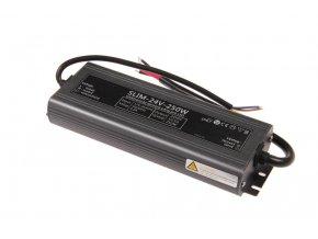 LED zdroj (trafo) 24V 250W IP67 SLIM
