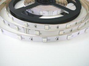 RGB LED pásik 7,2W bez krytia 24V