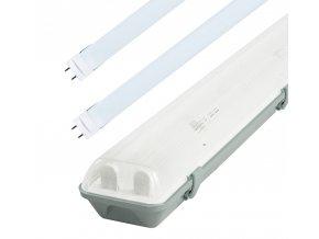Žiarivkové teleso 150cm + 2x LED trubice 24W Premium