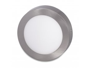 stribrny prisazeny led panel 225mm