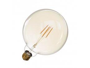 LED žiarovka Filament 4W E27 guľatá