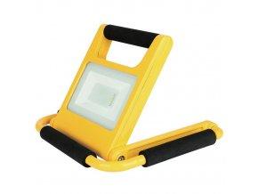 Nabíjací LED reflektor 20W skladací