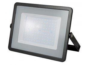 Čierny LED reflektor 100W