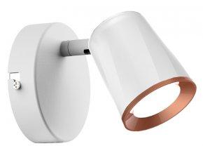 Biele LED bodové svietidlo 6W