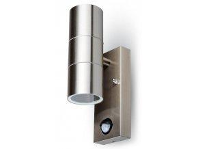Fasádné svietidlo 2x GU10 s pohybovým čidlom