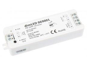 Prijímač dimLED pre LED pásiky