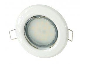 LED bodové světlo do sádrokartonu 3W bílé 12V (Barva světla Studená bílá)