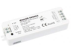 Prijímač dimLED RGB rádiofrekvenčný