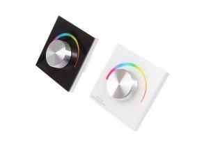 Nástenný ovládač dimLED pre LED pásiky RGB
