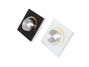 Nástenný Ovládač dimLED pre LED pásiky CCT
