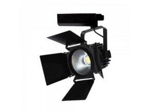Čierny lištový LED reflektor 33W 3F