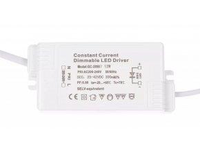 Stmievateľný zdroj pre LED panely 12W