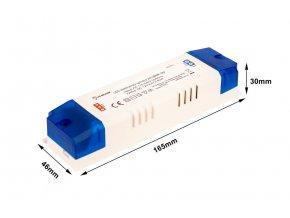 LED zdroj (trafo) 12V 80W vnútorný