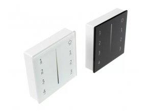 Bezdrôtový nástenný ovládač dimLED 4-kanálový