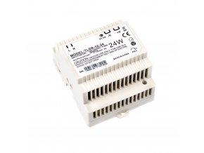 LED zdroj na DIN lištu 12V 24W
