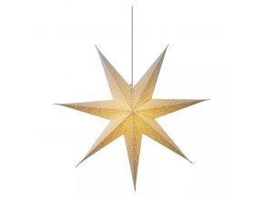 LED papierová vianočná hviezda