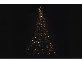 LED vianočný kovový strom