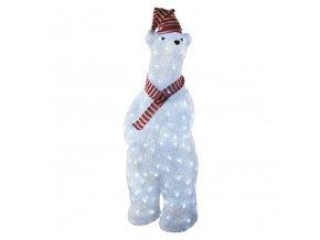 LED vianočný medveď