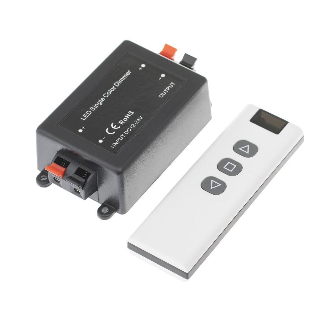 T-LED Stmievač ovládač RF12 kanály: 2x ovládač