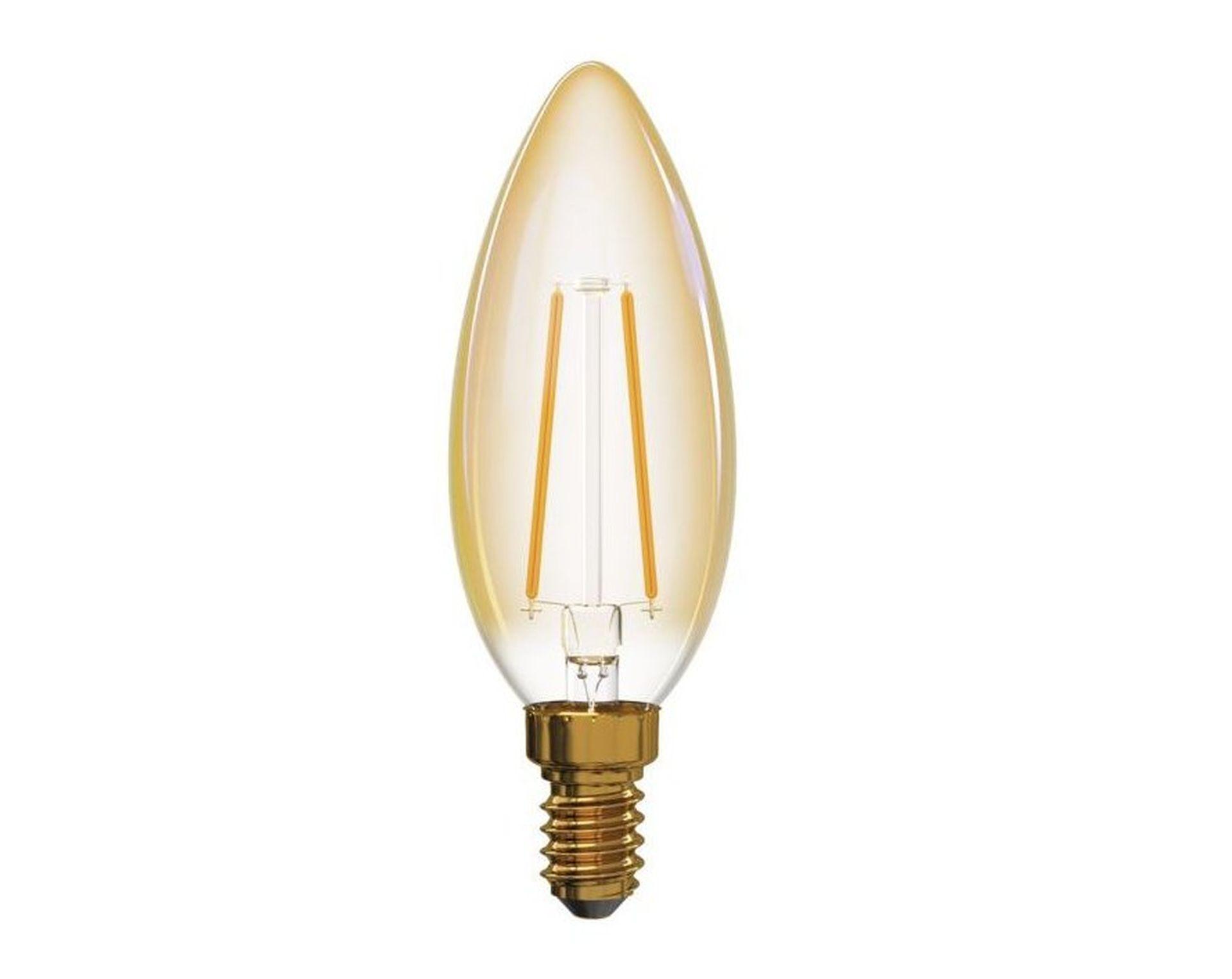 EMOS LED žiarovka sviečka Filament 2W E14 Z74300