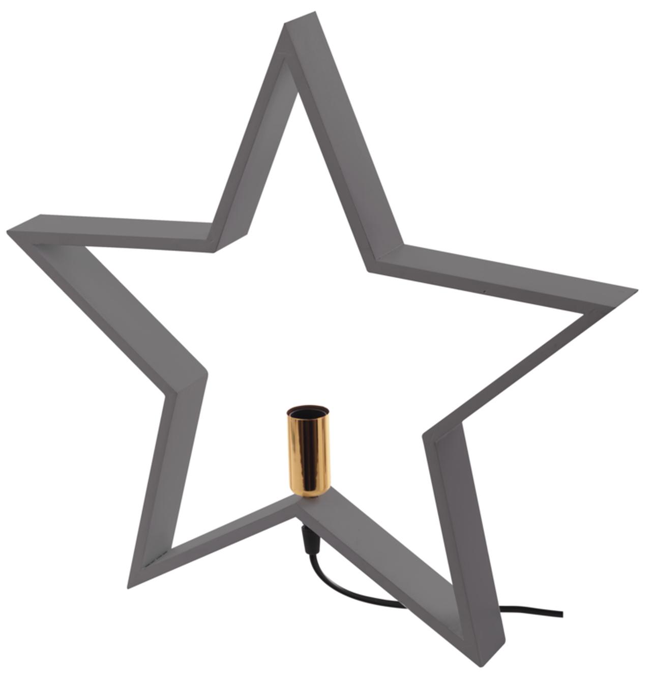 T-LED Svietnik na žiarovku E14 šedý drevený šedý ZY2216