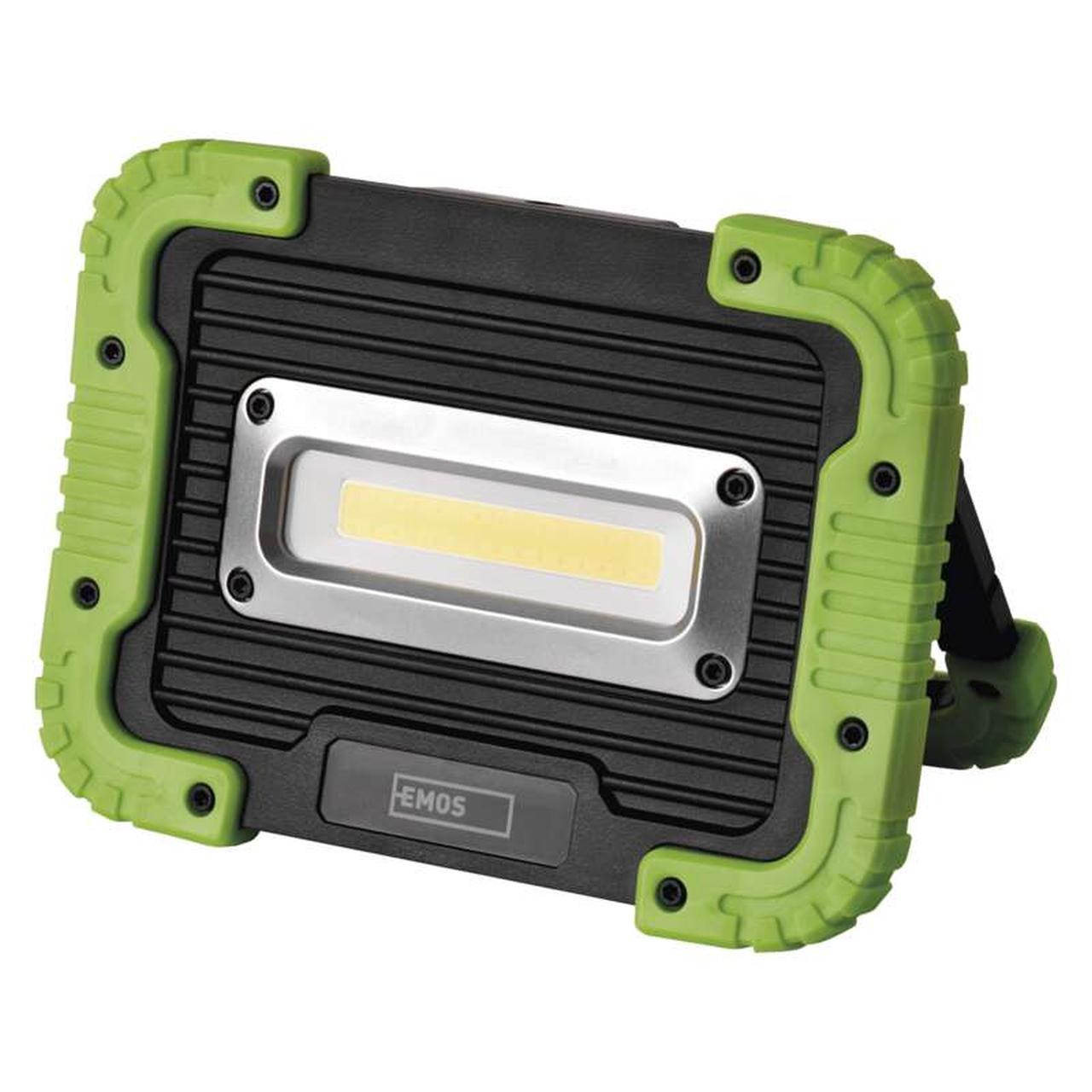 EMOS Nabíjací LED reflektor 10W P4533