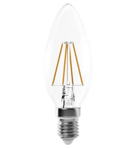 EMOS LED žiarovka sviečka Retro 4W E14 Z74210