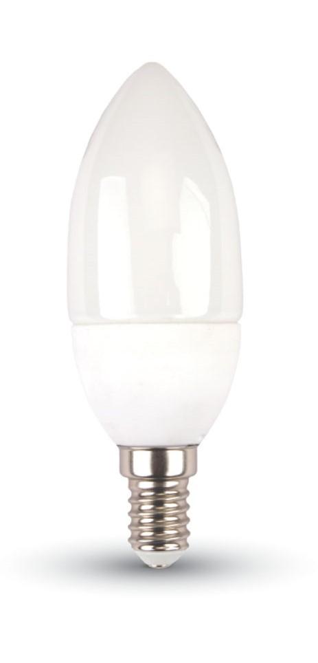 LED Solution LED žiarovka sviečka 5,5W E14 Farba svetla: Teplá biela 171