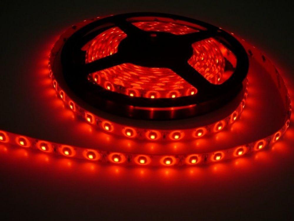 LED Solution LED pásik 4,8W/m 12V s krytiem IP54 Farba svetla: Červená 07117