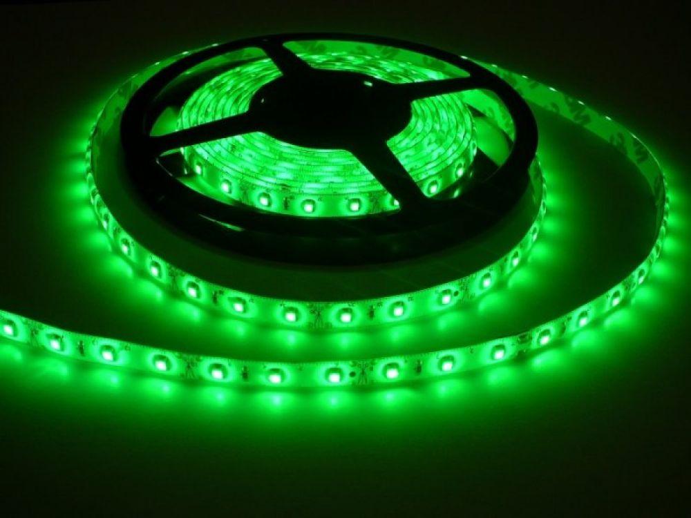 LED Solution LED pásik 4,8W/m 12V s krytiem IP54 Farba svetla: Zelená 07118