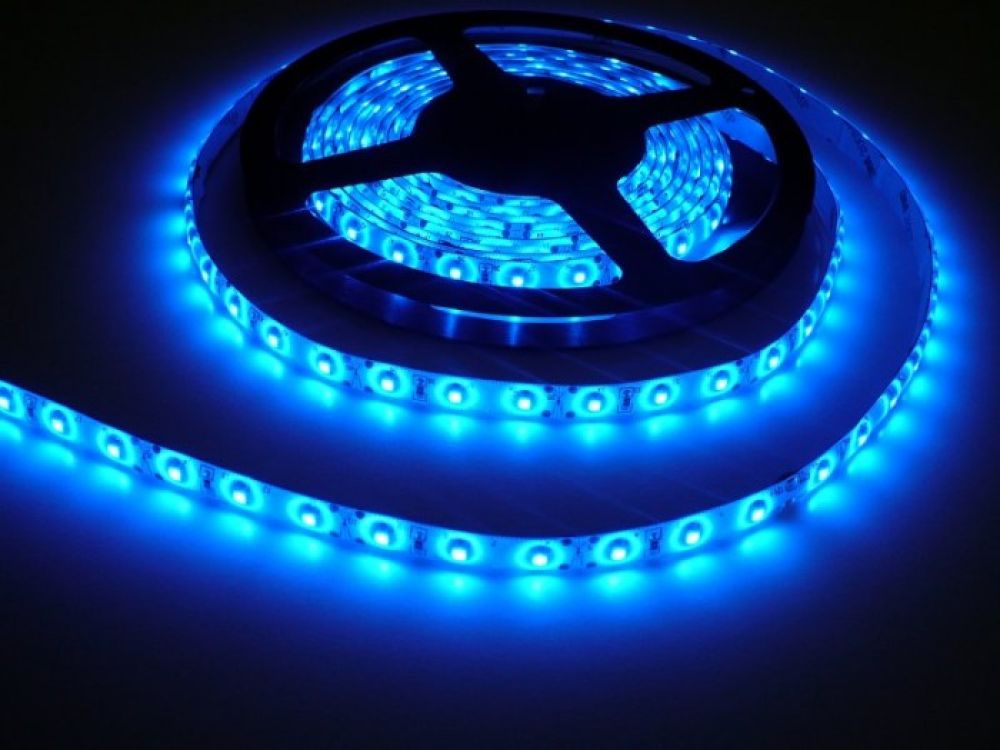 LED Solution LED pásik 4,8W/m 12V s krytiem IP54 Farba svetla: Modrá 07119