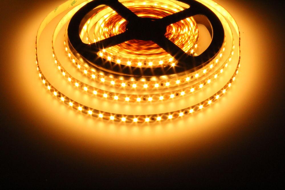 LED Solution LED pásik 9,6W/m 12V bez krytia IP20 Farba svetla: Extra teplá biela 07308