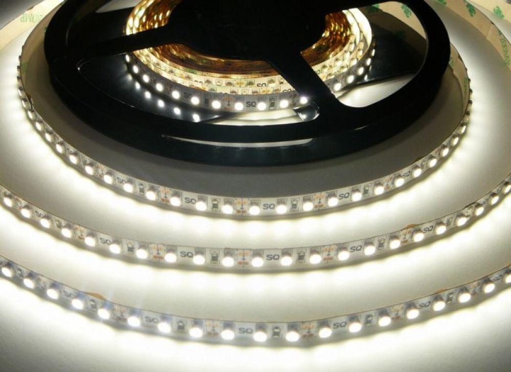 LED Solution LED pásik 9,6W/m 12V bez krytia IP20 Farba svetla: Denná biela 07303