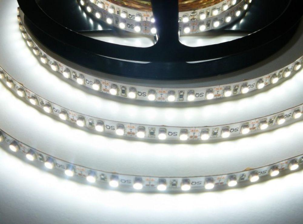LED Solution LED pásek 9,6W/m 12V bez krytí IP20 Farba svetla: Studená biela 07302