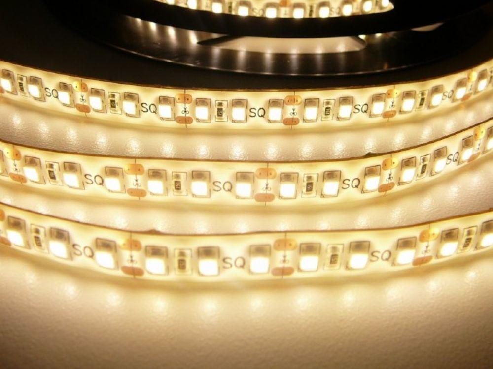 LED Solution LED pásek 9,6W/m 12V s krytím IP54 Farba svetla: Teplá biela 07311