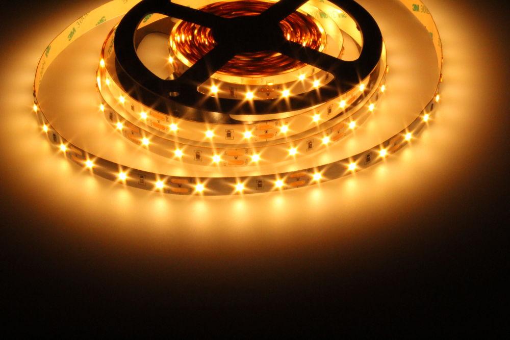 LED Solution LED pásik 12W/m 12V bez krytia IP20 Farba svetla: Extra teplá biela 07700