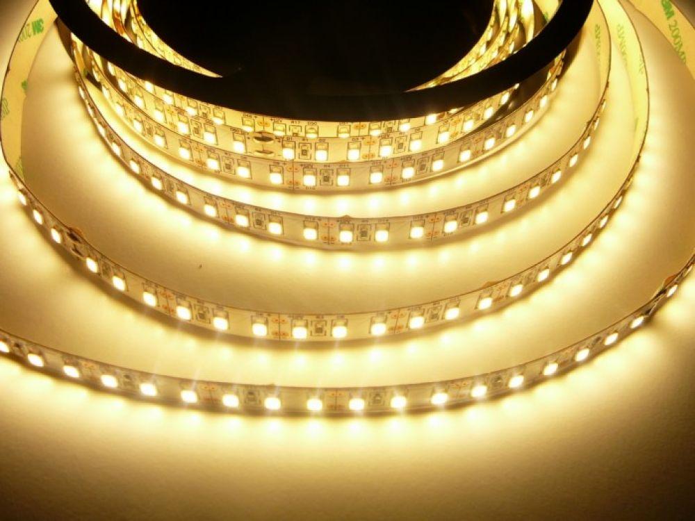 LED Solution LED pásik 20W/m 12V bez krytia IP20 Farba svetla: Teplá biela 07501