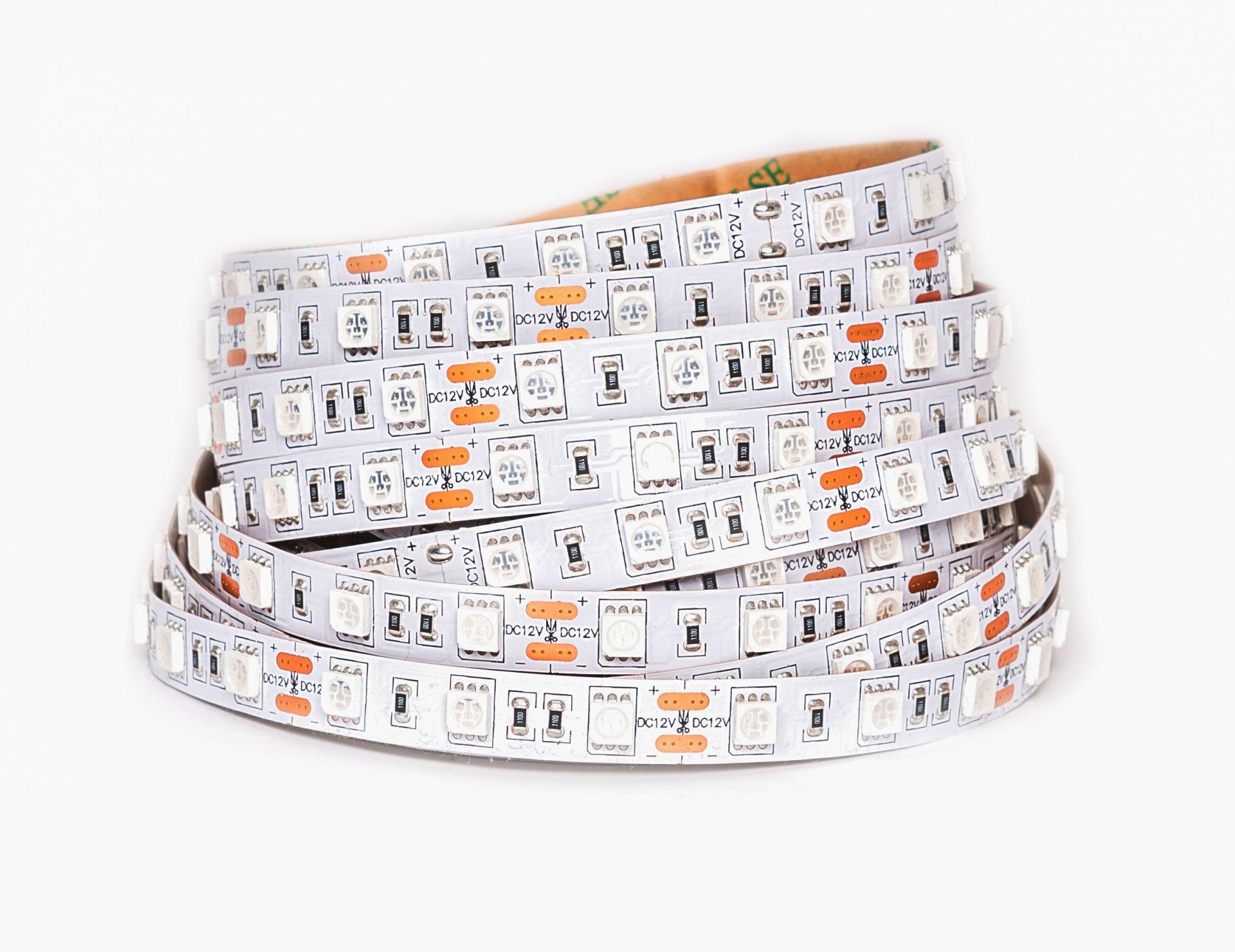 LED Solution UV LED pásik 14,4W/m 12V bez krytia IP20 07803