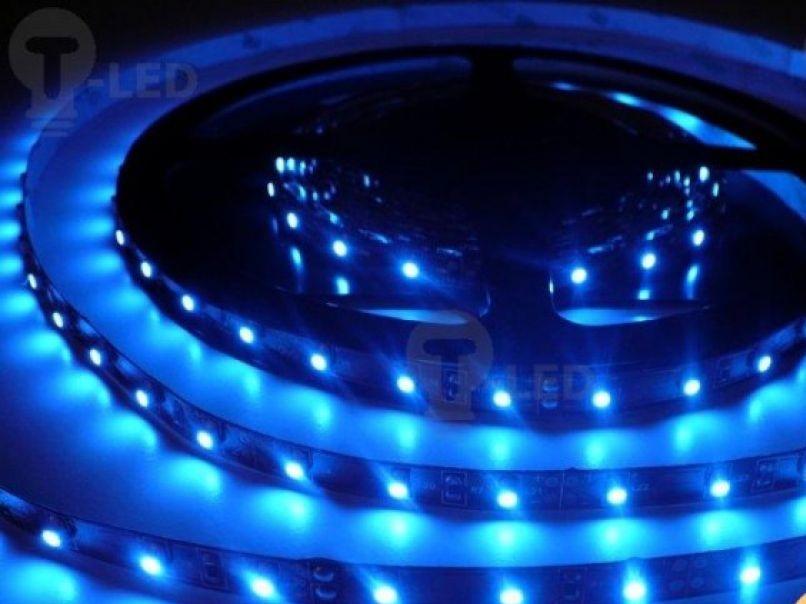 LED Solution LED pásik 4,8W/m 12V bez krytia IP20 Farba svetla: Modrá 07103