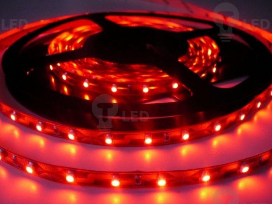 LED Solution LED pásik 4,8W/m 12V bez krytia IP20 Farba svetla: Červená 07101