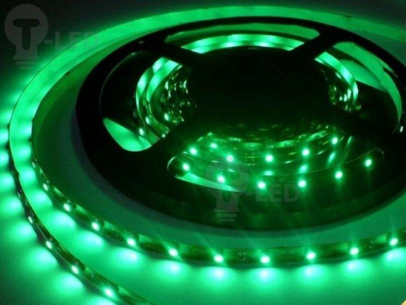 LED Solution LED pásik 4,8W/m 12V bez krytia IP20 Farba svetla: Zelená 07102