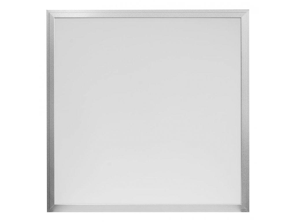 IMMAX LED panel/ 600x600x10mm/ 40W/ 3800lm/ přírodní bílá/ stmívatelný/ 5Y + zdroj + DO/ stříbrný 08805K Farba svetla: Teplá biela