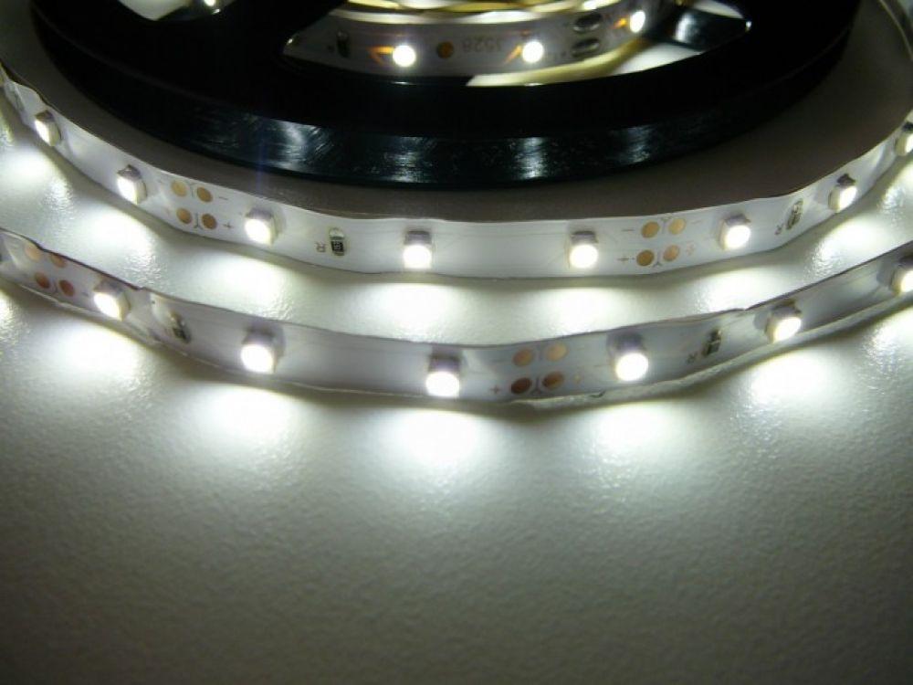 T-LED LED pásik 4,8W/m 12V bez krytia IP20 Economy Farba svetla: Studená biela 07145
