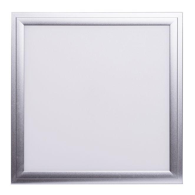 LED Solution Strieborný podhľadový LED panel 300 x 300mm 18W Premium Farba svetla: Teplá biela 468