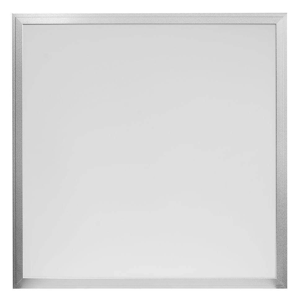 Ecolite Strieborný závěsný LED panel 600 x 600mm 45W Farba svetla: Teplá biela LED-GPL44-45/3000_TL390X-MONT