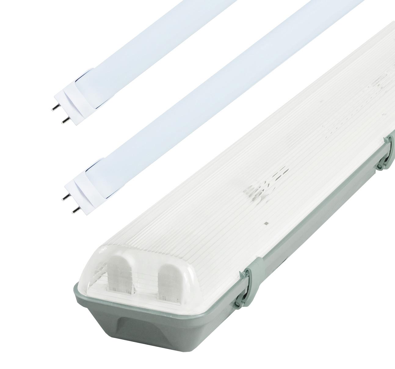 LED Solution Žiarivkové teleso 60cm + 2x LED trubice 10W Premium GXWP209_ZAR60CM10W