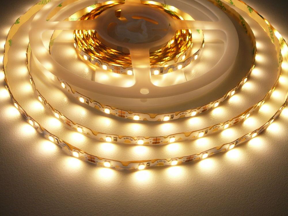 LED Solution Ohybný LED pásik 6,2W/m 12V bez kritia IP20 Farba svetla: Teplá biela 07804