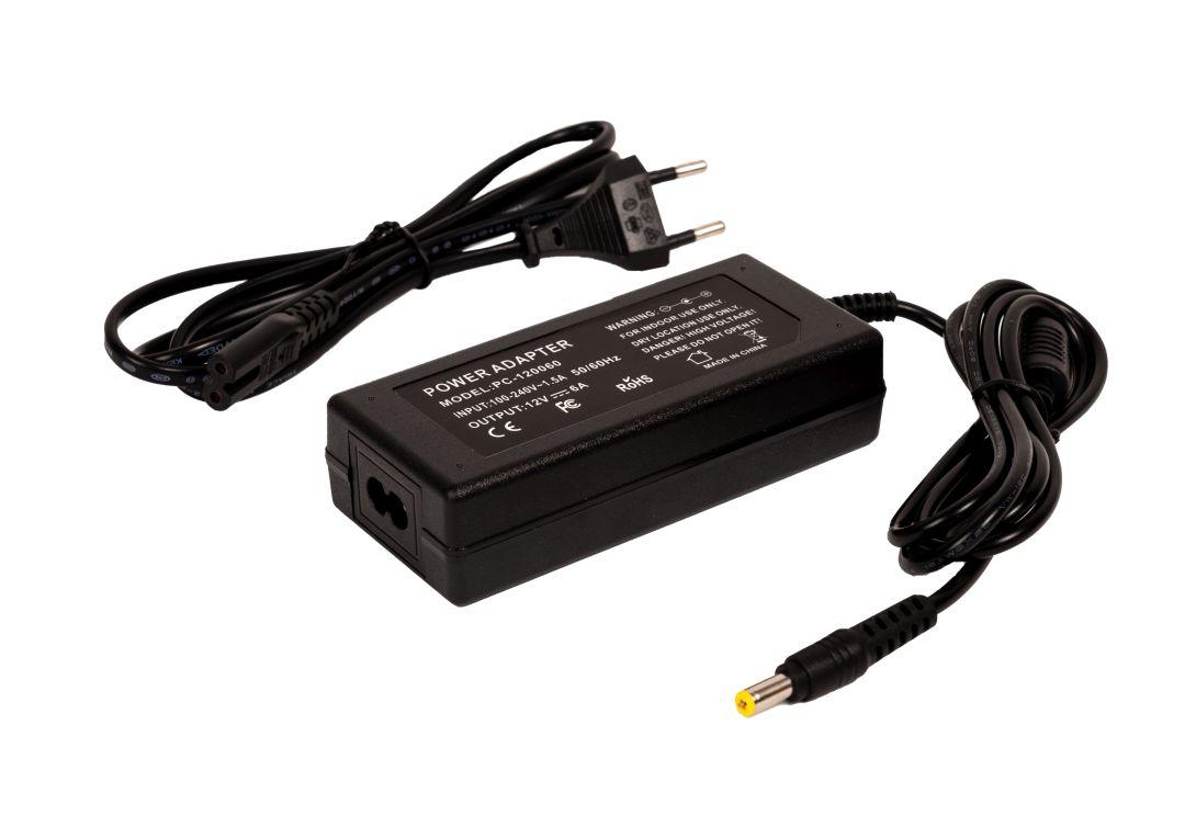 T-LED LED zásuvkový zdroj (trafo) 12V 72W 05310