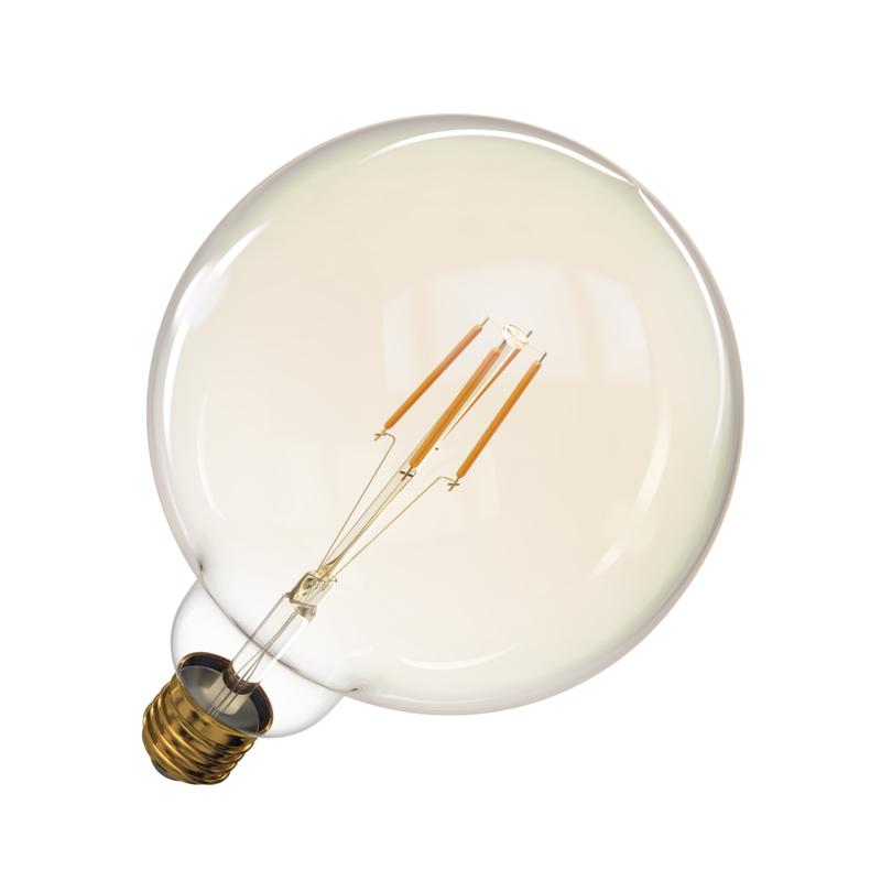 T-LED LED žiarovka Filament 4W E27 guľatá 032562