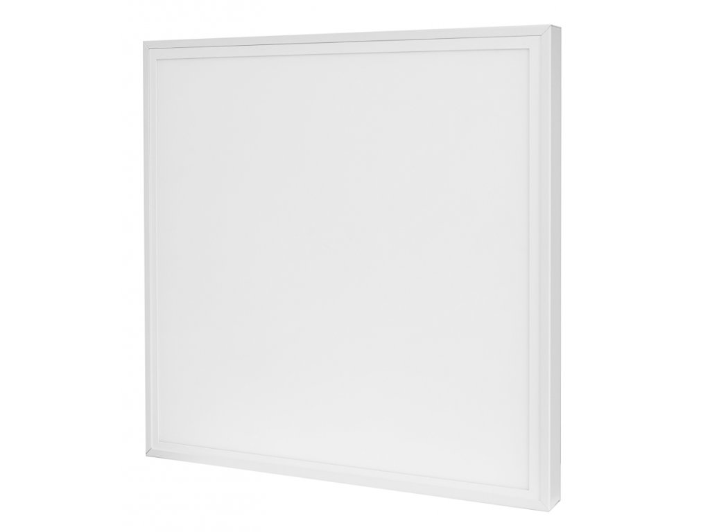 LED Solution Biely prisadený LED panel s rámčekom 600 x 600mm 40W Economy